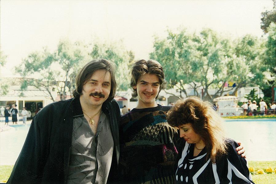 Светлана с Николаем и сыном Робертом