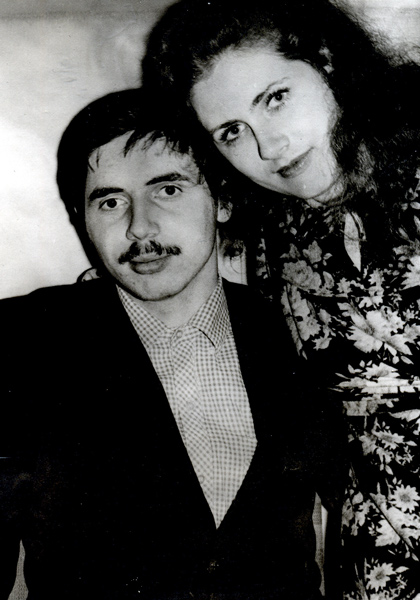 Я с сестрой Мариной, 1984 год