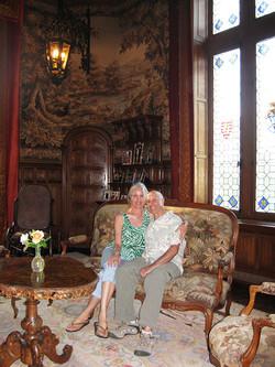 Джордж и Марша Орбелян в гостях