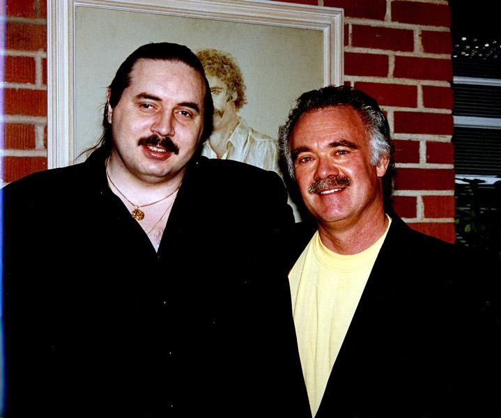 Я со Стивеном Гофлином, 1996 год