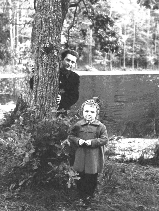 Светлана с папой