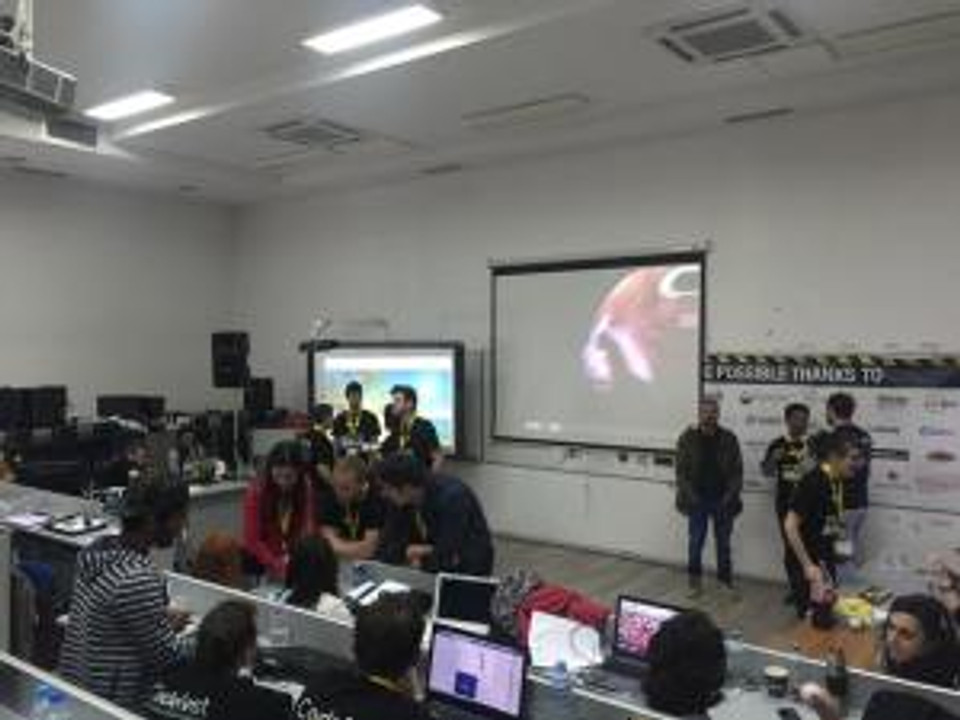 NinjaBiscuitonCodefest2015pitching
