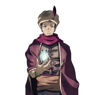 占星術師アキュバルのキャラクター