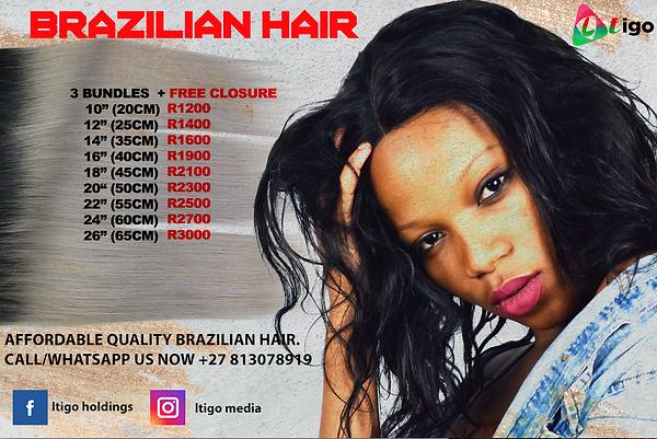 brazillian hair poster