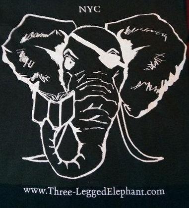 Three-Legged Elephant Logo Tee