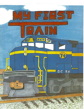 My First Train - children's book