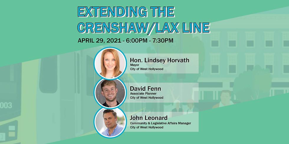 Extending the Crenshaw/LAX Line - ASCE LA YMF Webinar