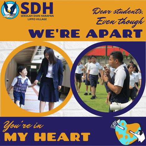 Home Based Learning di SDH Lippo Village