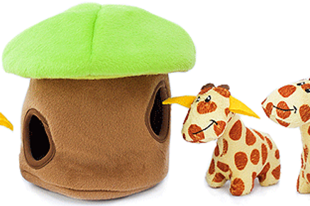 Zippy Burrow Giraffe Lodge