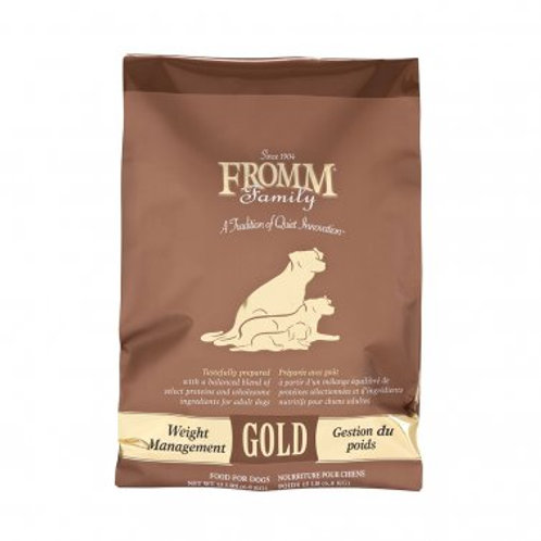 Fromm Gold Weight Management Adult Dog Food 15 lb