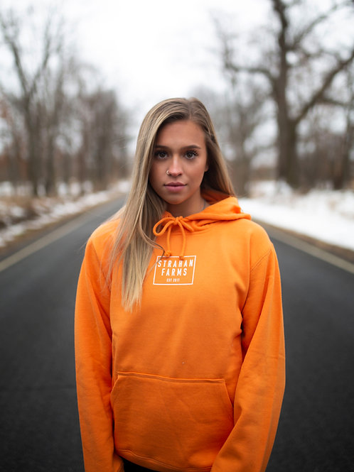Tangerine Hooded Sweatshirt