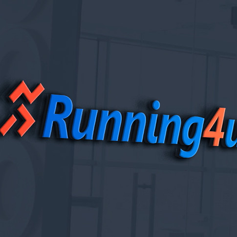 עיצוב לוגו לחנות מוצרי ריצה באינטרנט