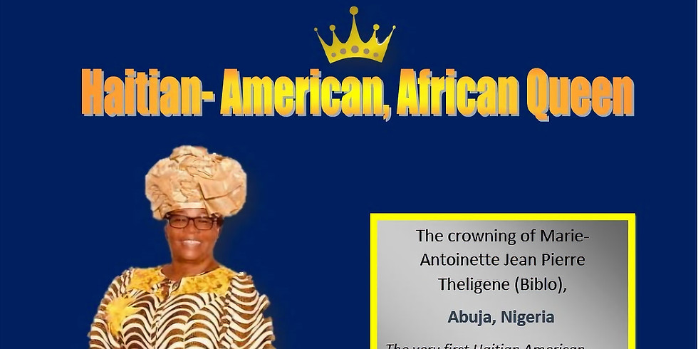 Crowning of the 1st Haitian-American Queen