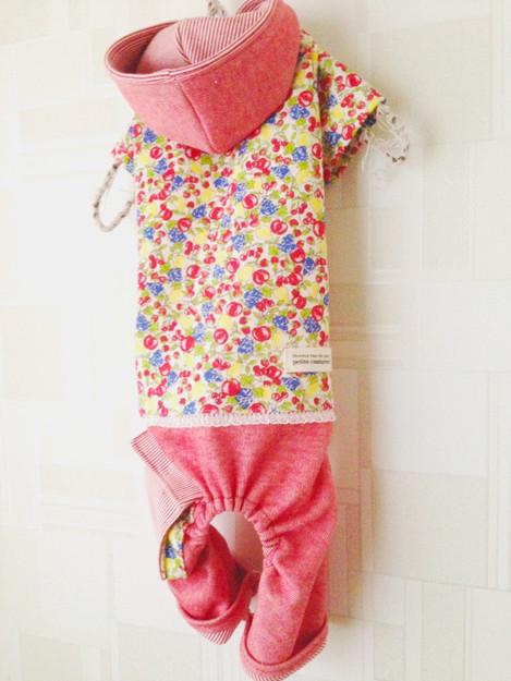 女の子用カバーオール