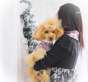 ママさんとモナちゃんオソロ
