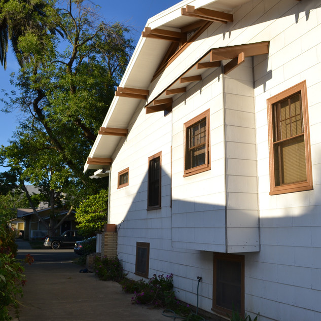 Mid town Sacramento Exterior painting project
