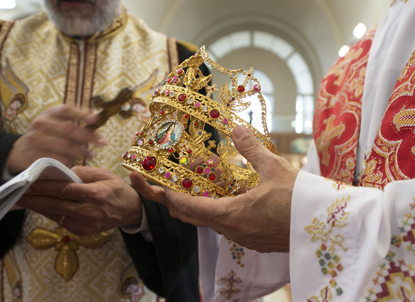Coptic wedding crowns