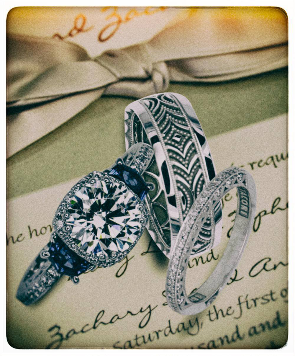 Wedding Rings - Harrison Baker Photography