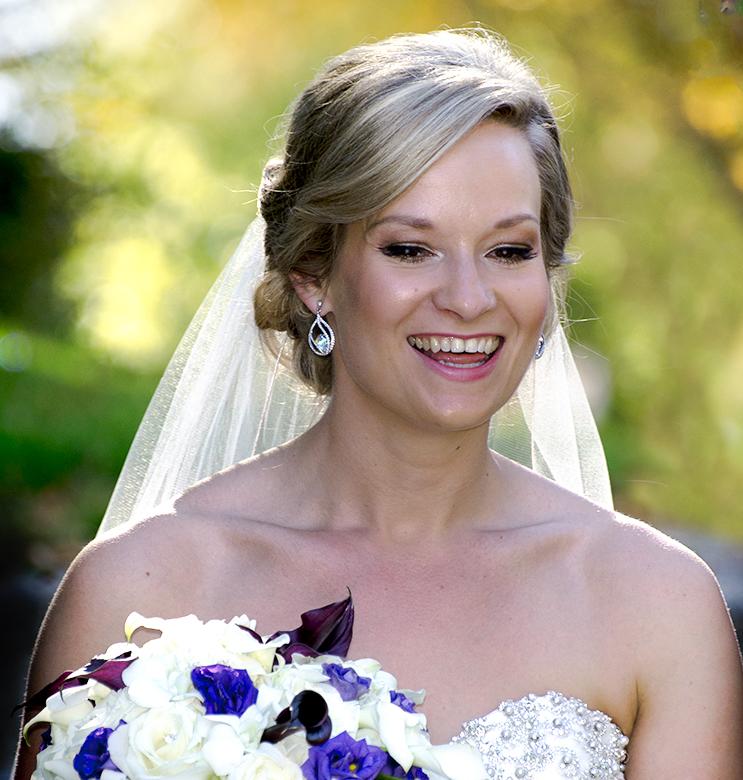 This sun bride shines!