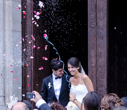 Confetti wedding!
