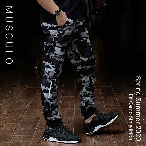 Musculo Fit camo 5th edition -กางเกงวอร์มขายาวลายพรางรุ่น5