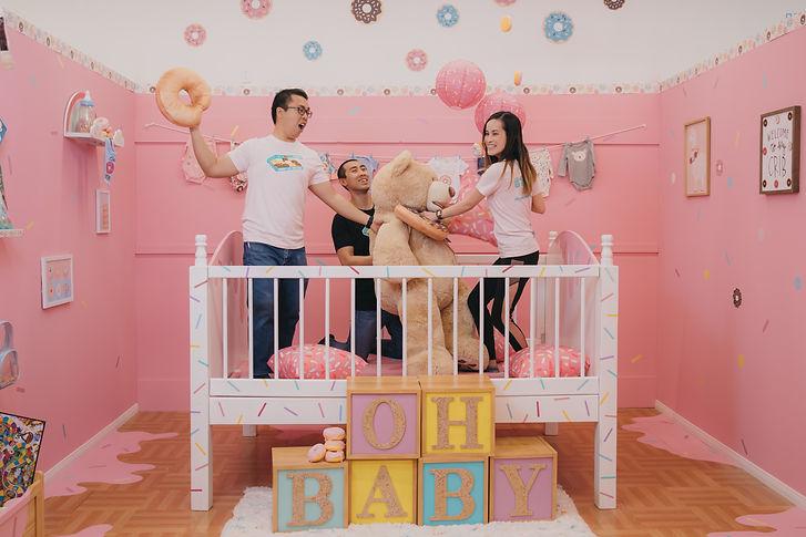 Donut Life Museum- Donut Baby Room