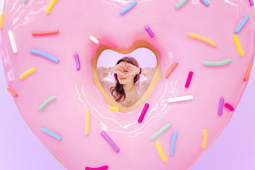 Donut Life Museum Heart
