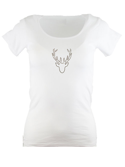 HIRSCH Trachtenshirt Fun Shirt