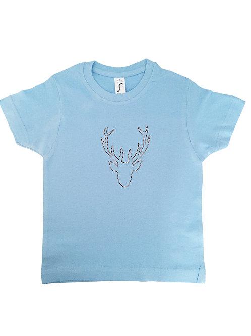 HIRSCHKOPF Kinder Trachten Fun Shirt