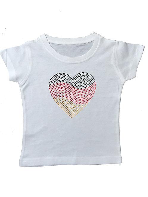 EM Deutschland Strassnieten T-Shirt in 7 Farben