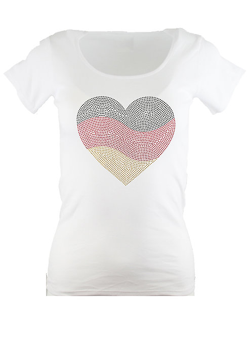 EM Deutschland Strassnieten T-Shirt in 4 Farben