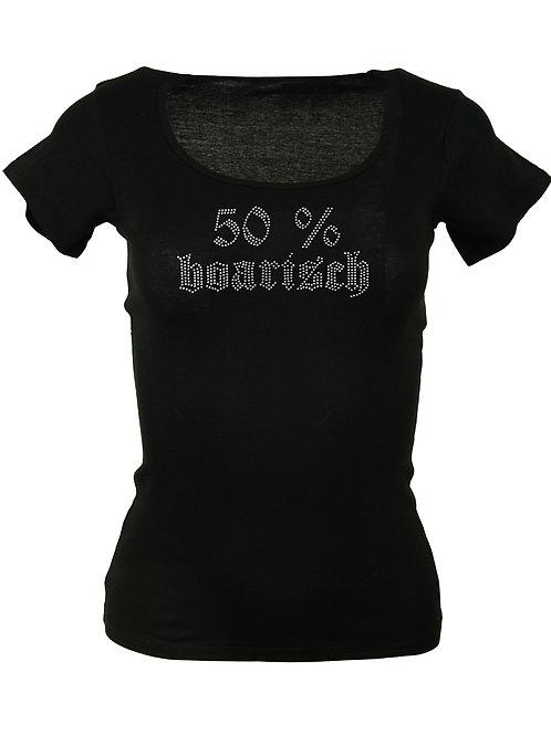 50% BOARISCH Trachtenshirt Fun Shirt