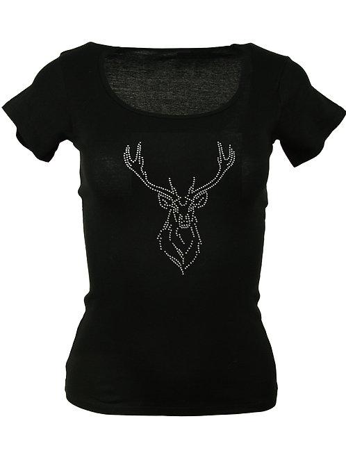 HIRSCHKOPF Trachtenshirt Fun Shirt