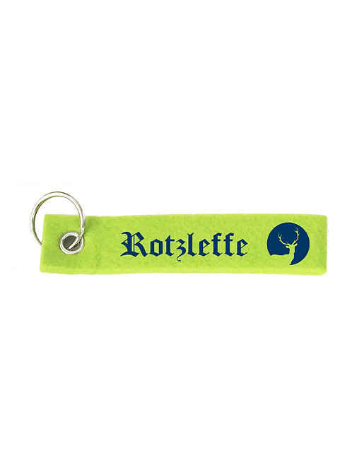 ROTZLEFFE Schlüsselanhänger - Filz Schlüsselbänder