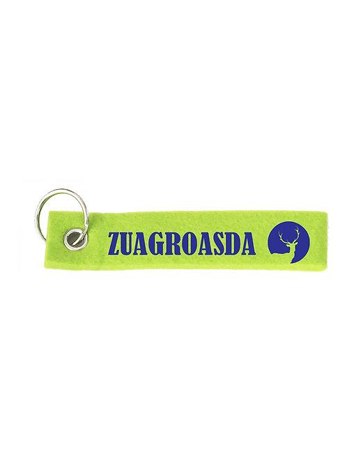 ZUAGROASDA Schlüsselanhänger - Filz Schlüsselbänder