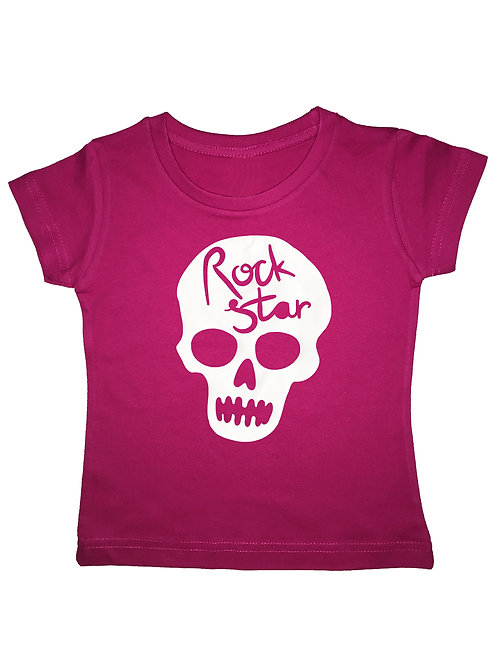 "Kinder T-Shirt ""ROCKSTAR"" in 7 Farben"