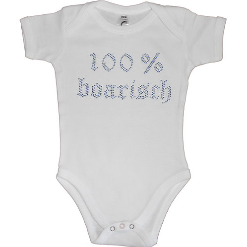 "Babybody ""100% BOARISCH"" in 5 Bodyfarben"