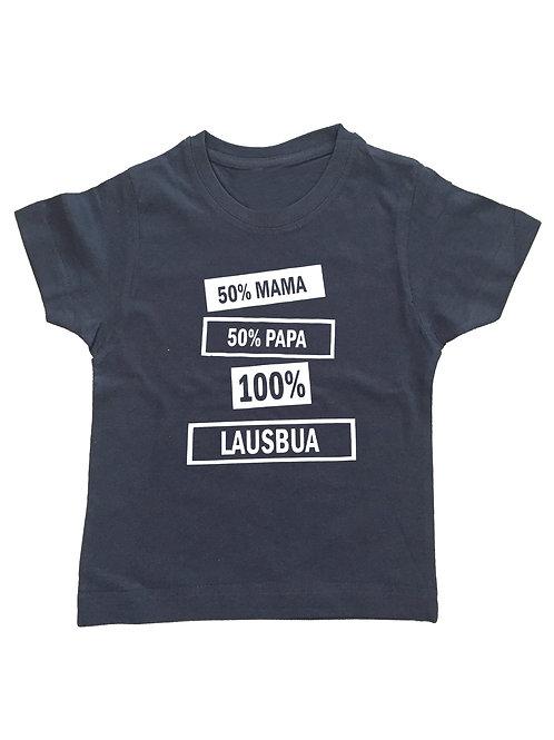 "Kinder Trachtenshirt ""LAUSBUA"" in 5 Shirtfarben"