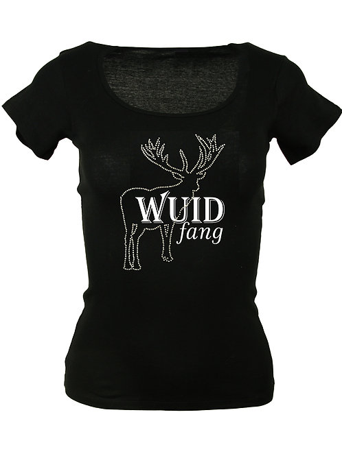 WUIDFANG Trachtenshirt Fun Shirt