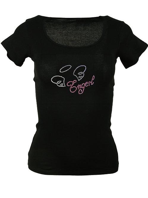 "Strass T-Shirt ""ENGERL"" in 4 Shirtfarben"