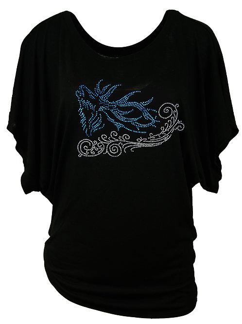 BRUMFTIGER HIRSCH Trachtenshirt Fun Shirt