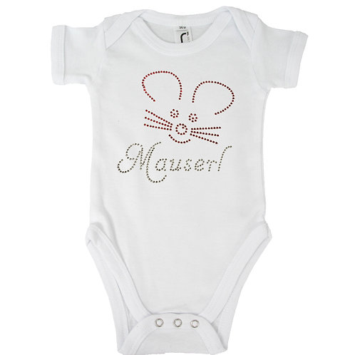 "BabyBody ""MAUSERL"" in 5 Bodyfarben"