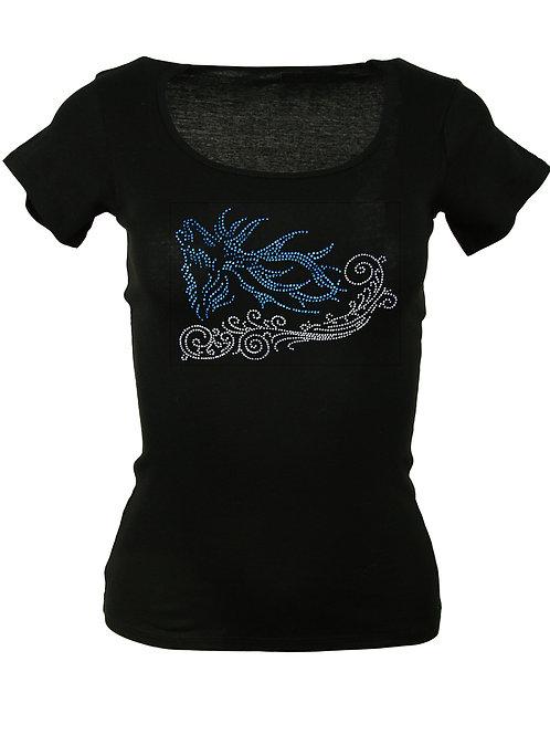 HIRSCH IN DER BRUMPFT Trachtenshirt Fun Shirt