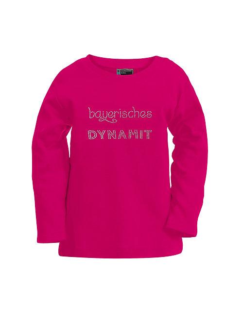 """Langarmshirt """"BAYERISCHES DYNAMIT"""" in 4 Farben"""