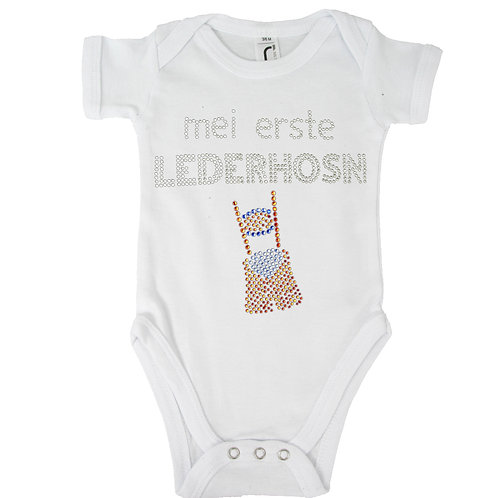 """Baby Body """"LEDERHOSN"""" in 5 Bodyfarben"""