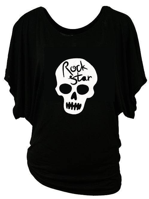 """Fun T-Shirt """"ROCKSTAR"""" in 2 Shirtfarben"""