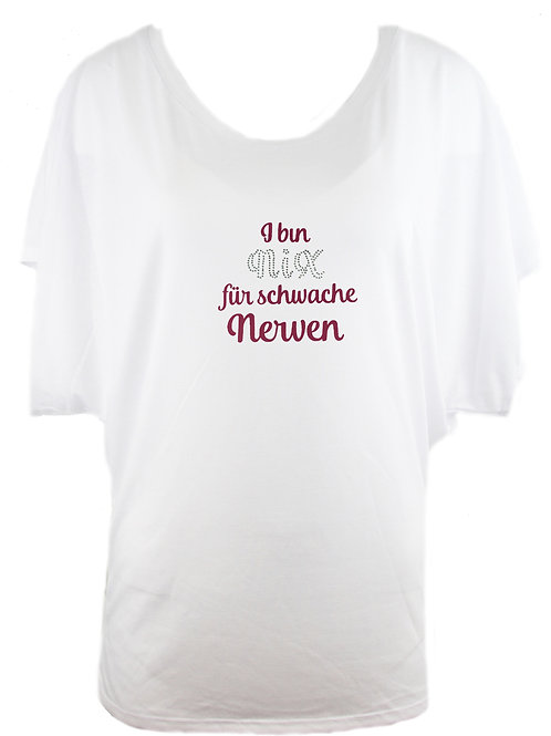 """Trachtenshirt """"NIX NERVEN"""" in 2 Shirtfarben"""