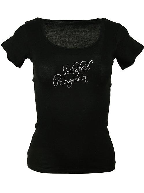 VOIKSFEST PRINZESSIN Trachtenshirt Fun Shirt