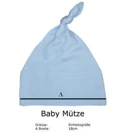 Baby_Muetze_bedruckt_mit_Schrift_Geburtsgeschenk_Geschenk_zur_Geburt_blau_Groesse