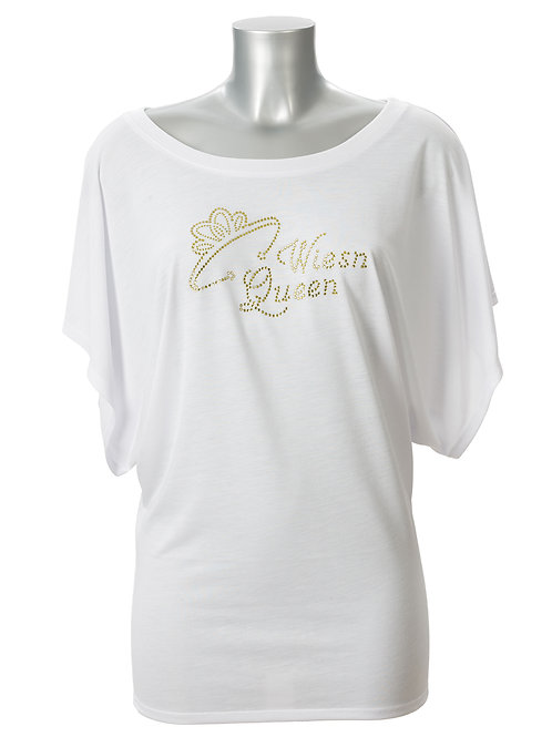 WIESN QUEEN MIT KRONE Trachtenshirt Fun Shirt